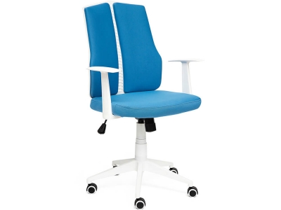Кресло Lite ткань Синий + Белый (281)