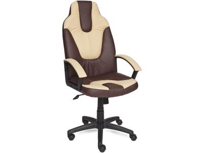 Кресло Neo-2 кож.зам Коричневый + Бежевый (36-36/36-34)