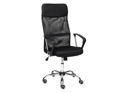 Кресло Practic кож.зам + ткань Чёрный