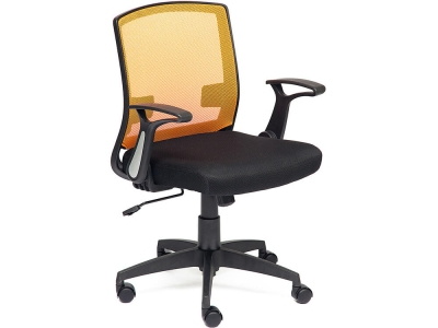 Кресло Scout ткань Чёрный + Оранжевый