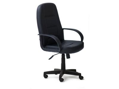 Кресло СH747 кож.зам Чёрный (36-6)