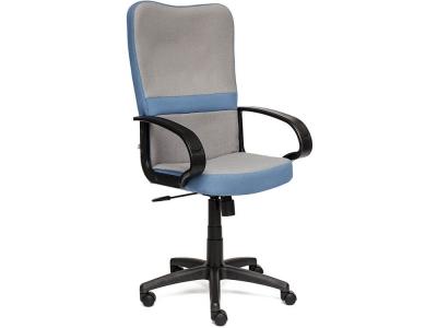 Кресло СH757 ткань Серый + Синий (с27/с24)