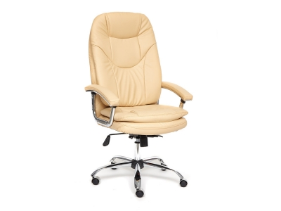 Кресло Softy Lux кож.зам Бежевый (36-34)