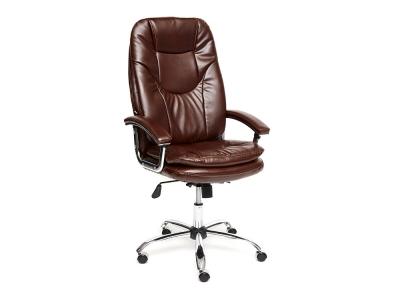 Кресло Softy Lux кож.зам Коричневый (2 Tone)