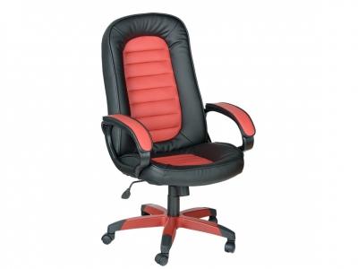 Кресло Спринт ультра черно-красный