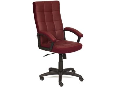 Кресло Trendy кож.зам + ткань Бордо + Бордо (36-7/13)
