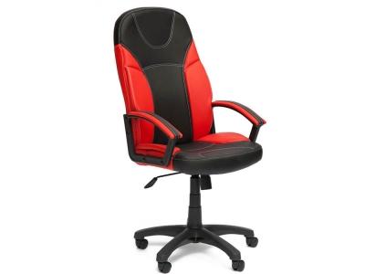 Кресло Twister кож.зам Чёрный + Красный (36-6/36-161)