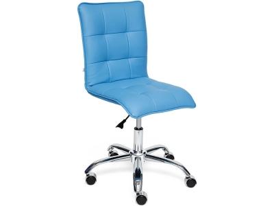 Кресло Zero кож.зам Голубой (04-20)