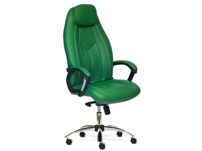 Кресло Boss Люкс иск кожа Зелёный