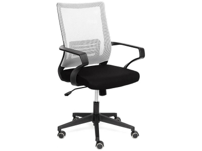 Кресло Mesh-4 ткань Чёрный - Серый