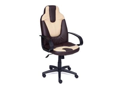Кресло Neo 1 иск кожа Коричневый - Бежевый