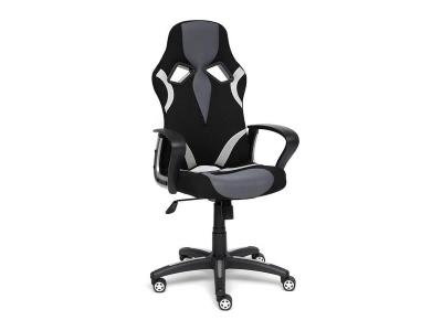 Кресло Runner ткань Чёрный - Серый