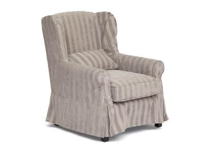 Кресло Secret De Maison Linby Бежевая Полоска (mod. Cc1312)