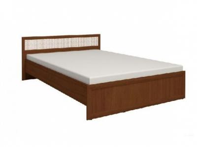 Кровать 2 с ортопедическим основанием Милана орех 1570х2050х845