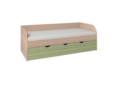 Кровать 5 Калейдоскоп Зеленая радуга 2052х880х729