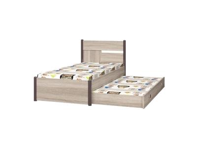 Кровать 900 с настилом с ящиком к кровати 800 Хэппи ИД 01-24-24А