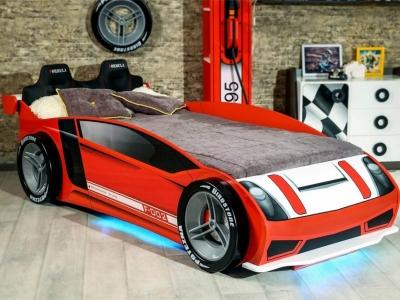 Кровать 900х2000 Формула ЛД.514130.000 1184х814х2433 красная