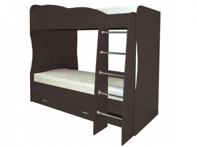Кровать детская двухъярусная Юниор-2 Венге