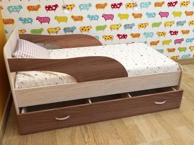 Кровать детская Максимка ясень шимо