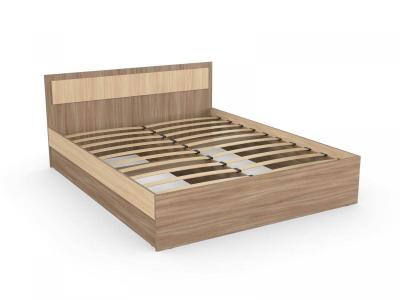Кровать Дуэт 140 ясень шимо с основанием
