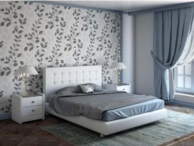 Кровать Elegant белая