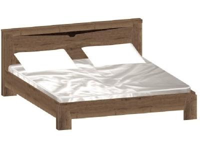 Кровать Гарда Дуб галифакс Табак без основания