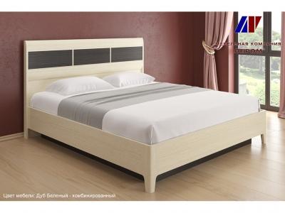Кровать КР-1864 1800х2000 Дуб Беленый - комбинированный