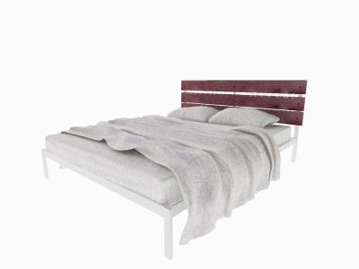 Кровать Луиза белая