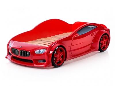 Кровать-машина Evo БМВ красная