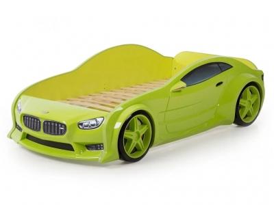 Кровать-машина Evo БМВ зеленая