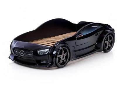 Кровать-машина Evo Мерседес черная