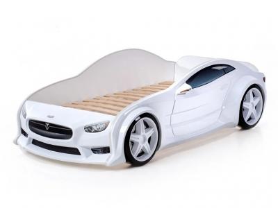 Кровать-машина Evo Тесла белая