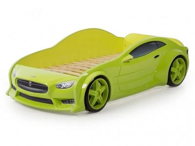 Кровать-машина Evo Тесла зеленая