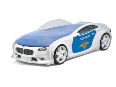 Кровать-машина Neo БМВ полиция