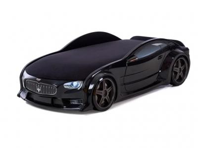 Кровать-машина Neo Мазерати черная