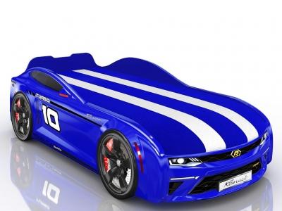 Кровать-машинка Romack Energy-M Синяя