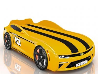 Кровать-машинка Romack Energy-M Желтая