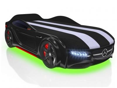 Кровать-машинка Romack Junior AMG черная