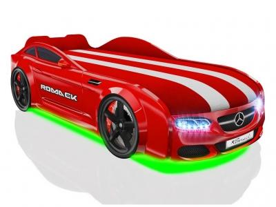 Кровать-машинка Romack Real-M AMG Красная