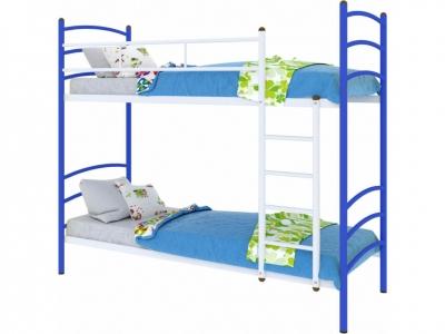 Кровать Милана duo синяя
