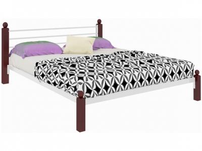Кровать Милана Lux белая