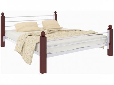 Кровать Милана Lux Plus белая