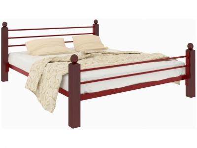 Кровать Милана Lux Plus красная