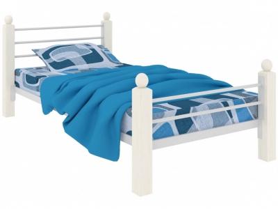 Кровать Милана мини Lux Plus белая