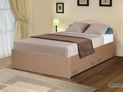 Кровать на уголках №3 с ящиками Матрица