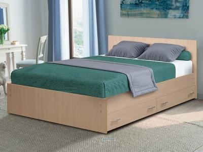 Кровать на уголках №4 с ящиками Матрица