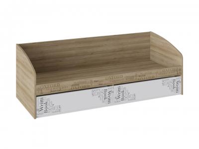 Кровать с 2 ящиками Оксфорд ТД-139.12.01 Ривьера, Белый с рисунком