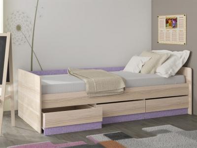 Кровать с 3 ящиками Индиго ПМ-145.15