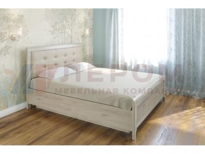Кровать с мягким изголовьем КР-1033 1600х2000 Гикори Джексон светлый