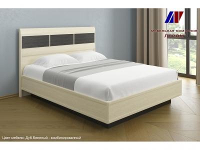 Кровать с подъемным механизмом КР-1703 1600х2000 Дуб Беленый - комбинированный
